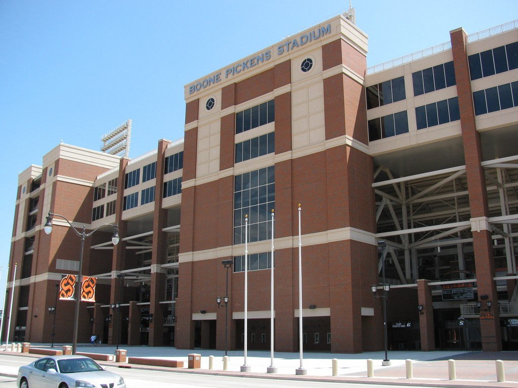 Donations of $500 million put T. Boone Pickets on the top of the OSU donor list and his name on the stadium